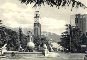 1950 ca MASSA Palazzo delle Poste e dei Telegrafi in PIAZZA PUCCINI *FG NV