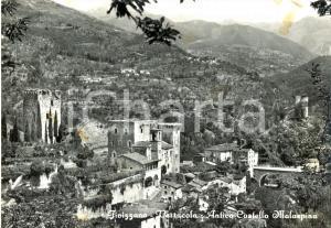 1967 FIVIZZANO (MS) La frazione VERRUCOLA con l'antico castello MALASPINA *FG VG