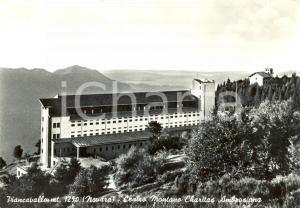 1955 ca AVIANO (PN) Il centro montano CHARITAS AMBROSIANA di PIANCAVALLO *FG VG