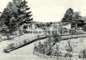 1960 CATANZARO SILA Veduta di Villa RACISI *Cartolina postale FG VG