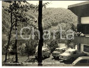 1959 APPENNINO REGGIANO (RE) Turisti al Lago del CERRETO *Cartolina FG VG