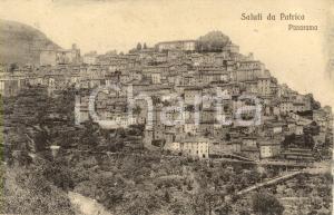 1914 PATRICA (FR) Veduta panoramica del paese *Cartolina postale FP VG