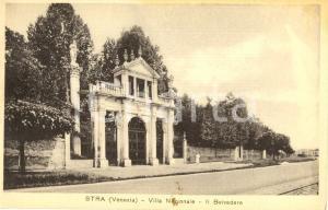 1939 STRA (VE) BELVEDERE di Villa PISANI Museo Nazionale *Cartolina postale VG