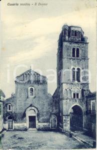 1928 CASERTA Veduta DUOMO nella città vecchia *Cartolina postale FP VG