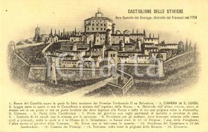1915 ca CASTIGLIONE DELLO STIVIERE (MN) Il castello dei GONZAGA *DANNEGGIATA NV
