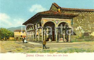 1900 ca AREZZO Veduta chiesa SANTA MARIA DELLE GRAZIE *Animata FP NV