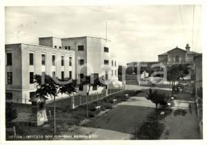 1956 OFFIDA (AP) Istituto DON GIOVANNI BERGALUCCI *Cartolina FP VG