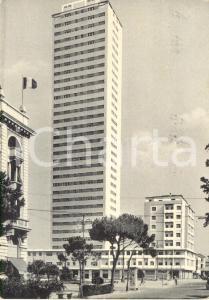 1959 CESENATICO (FC) Veduta grattacielo in Viale CARDUCCI *Cartolina FG VG
