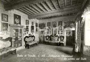 1960 ca COLLEPARDO (FR) Saletta BALBI alla Badia di TRISULTI *Cartolina FG NV