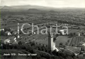 1967 SEQUALS (PN) Panorama paese e campagne dal CRET *Cartolina postale FG VG