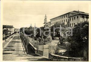 1950 CASCIANA TERME (PI) Veduta di Viale Luigi MERELLO *Cartolina postale FG VG