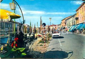 1962 CESENATICO (FC) Porto canale e Viale Anita GARIBALDI *ANIMATA VINTAGE