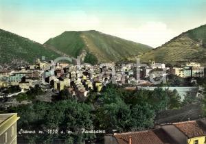 1960 ca SCANNO (AQ) Veduta panoramica del paese *Cartolina postale FG NV