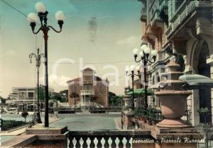 1956 CESENATICO (FC) Veduta di Piazzale KURSAAL *Cartolina postale FG VG