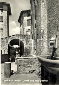 1960 SAN MINIATO (PI) Veduta dell'antica porta della cittadella *Cartolina FG VG