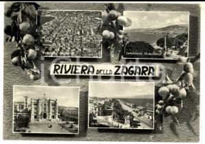 1952 REGGIO CALABRIA Vedutine RIVIERA DELLA ZAGARA con lungomare *Cartolina