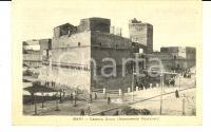 1930 ca BARI Castello Svevo (Monumento Nazionale) *Cartolina ANIMATA FP NV