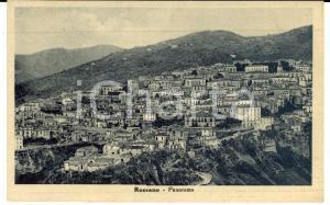 1950 ROSSANO (CS) Veduta panoramica *Cartolina postale FP VG