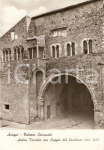 1970 ANAGNI (FR) Palazzo Comunale con Loggia del Banditore *Cartolina FG VG