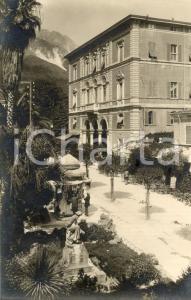 1935 ca CARRARA (MS) Regie Poste e monumento a Pietro TACCA *Cartolina FP NV