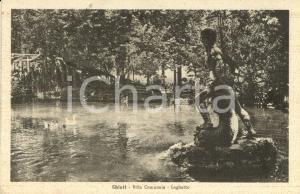 1947 CHIETI Il Laghetto del giardino della Villa Comunale *Cartolina FP VG