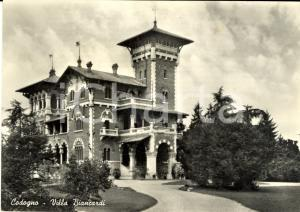 1959 CODOGNO (LO) Veduta di Villa BIANCARDI *Cartolina postale FG VG