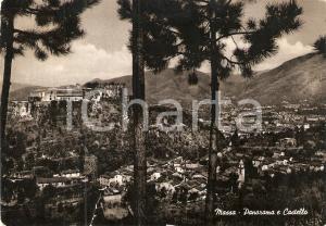1955 MASSA (MS) Panorama e Castello *Cartolina FG VG