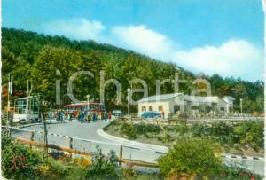 1970 ca RIFREDDO (PZ) Torpedone arriva al villaggio turistico *Cartolina VINTAGE
