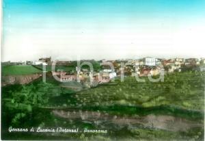 1973 GENZANO DI LUCANIA (PZ) Panorama del paese *Cartolina VINTAGE FG VG