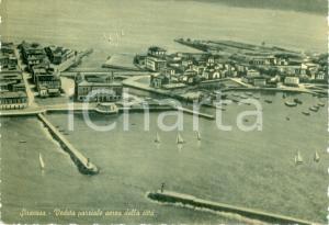 1953 SIRACUSA Veduta parziale aerea della città *Cartolina FG VG