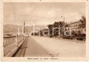 1942 REGGIO CALABRIA Passeggiata di VIA MARINA Lungomare *Cartolina FG VG