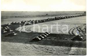 1963 AVIANO (PN) Parata del 132° Reggimento Carri ARIETE *Cartolina FG VG
