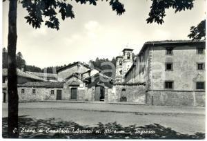 1962 POPPI (AR) Ingresso del Santo Eremo di CAMALDOLI *Cartolina FG VG