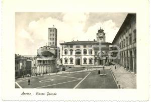 1954 AREZZO Palazzo TRIBUNALI Palazzo FRATERNITA' LAICI piazza GRANDE *FG VG