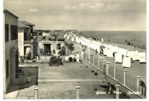 1960 ca GATTEO A MARE (FC) Stabilimenti balneari di VILLA RIPOSO *ANIMATA FG VG