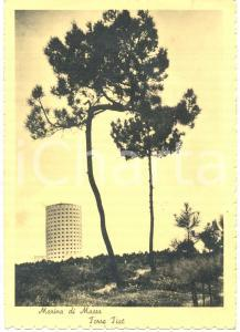 1950 MARINA DI MASSA (MS) La Torre FIAT *Cartolina FG VG