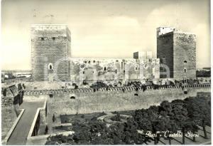 1962 BARI Il castello SVEVO *Cartolina FG VG