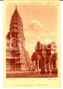 1931 PARIS Exposition Coloniale - ANGKOR VAT - Angle Nord Est *Carte postale
