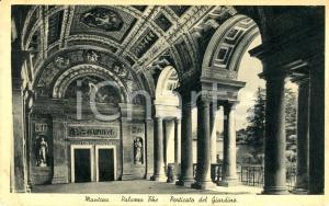 1938 MANTOVA Porticato del giardino di PALAZZO TE *Cartolina FP VG