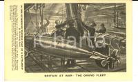 1915 ca WW1 BRITAIN AT WAR - In the Submerged Torpedo flat of a battleship