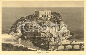 1940 TROPEA (VV) Veduta panoramica dell'ISOLA *Cartolina postale FP VG