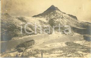 1910 ca MONTE SAGRO (MS) Veduta delle cave di marmo *Cartolina FP NV DANNEGGIATA