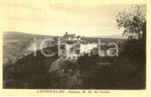 1940 ca CASTROVILLARI (CS) Santuario MADONNA del CASTELLO *Cartolina FP NV