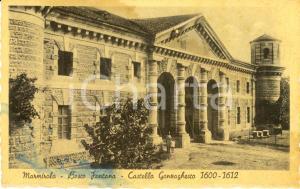 1943 MARMIROLO (MN) Castello GONZAGHESCO Bosco Fontana *Cartolina DANNEGGIATA