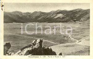 1951 ROCCA DI MEZZO (AQ) Panorama di PIANO DI PEZZA *Cartolina postale FP VG