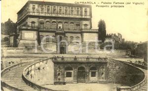 1918 CAPRAROLA (VT) Prospetto principale PALAZZO FARNESE (del VIGNOLA) * FP VG