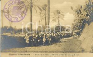 1911 LIBIA GUERRA ITALO-TURCA Nemico in vista nell'oasi infida di SCIARA-SCIAT