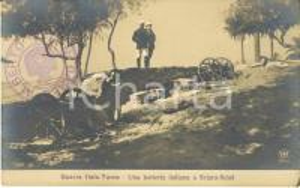 1911 LIBIA GUERRA ITALO-TURCA Una batteria italiana a SCIARA-SCIAT *Animata FP