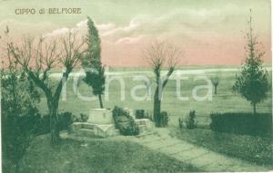 1911 CIPPO DI BELFIORE Pellegrinaggio Lombardo-Veneto Società DANTE ALIGHIERI