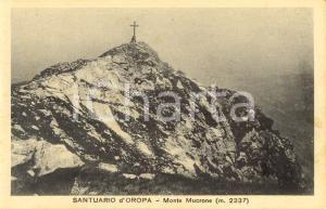 1930 ca MONTE MUCRONE (BI) Croce sulla vetta in prossimità del Santuario d'OROPA